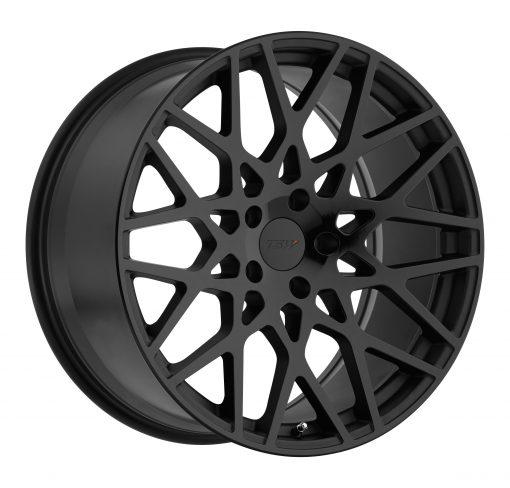 TSW Rims VALE DOUBLE BLACK - MATTE BLACK W/GLOSS BLACK FACE