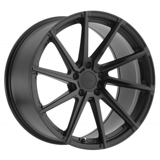 TSW Rims WATKINS DOUBLE BLACK - MATTE BLACK W/GLOSS BLACK FACE