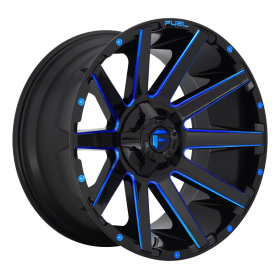 D644 CONTRA GLOSS BLACK BLUE TINTED CLEAR