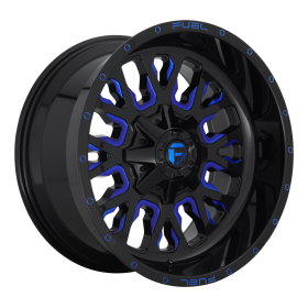 D645 STROKE GLOSS BLACK BLUE TINTED CLEAR