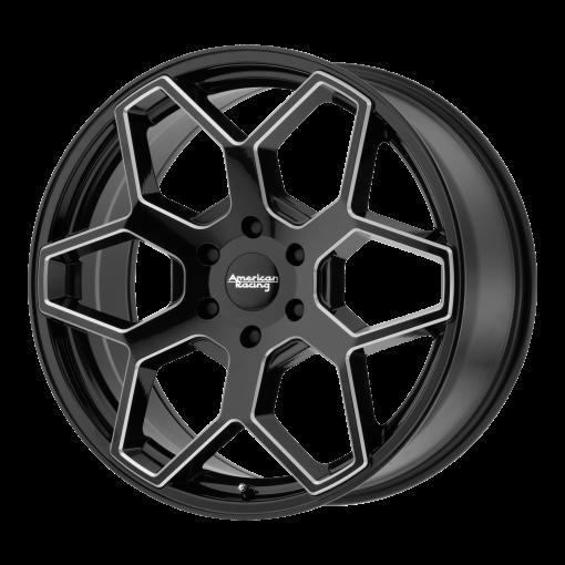 American Racing Rims AR916 GLOSS BLACK MILLED