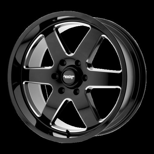 American Racing Rims AR926 PATROL GLOSS BLACK MILLED