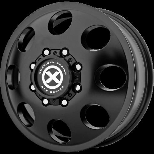 ATX Series Rims AX204 BAJA DUALLY SATIN BLACK - FRONT