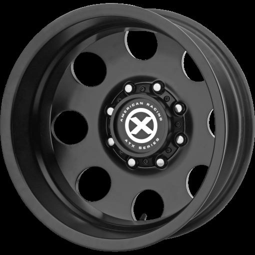 ATX Series Rims AX204 BAJA DUALLY SATIN BLACK - REAR