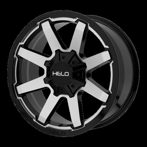 HELO Rims HE909 GLOSS BLACK MACHINED