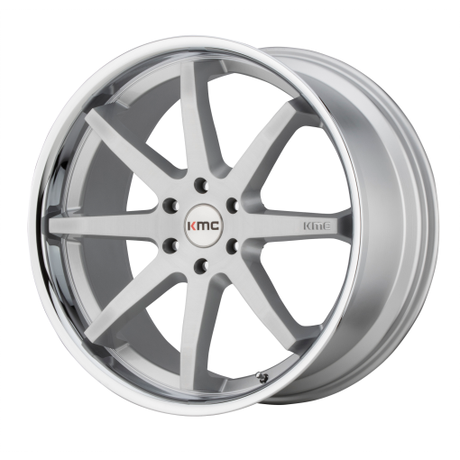 KMC Rims KM715 REVERB BRUSHED SILVER CHROME LIP