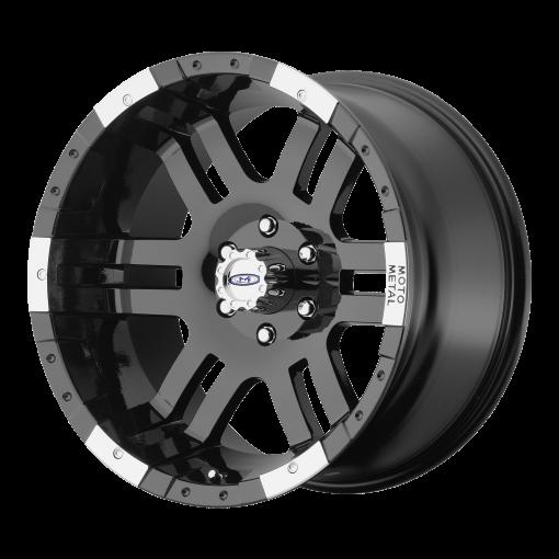 Moto Metal Rims MO951 GLOSS BLACK MACHINED