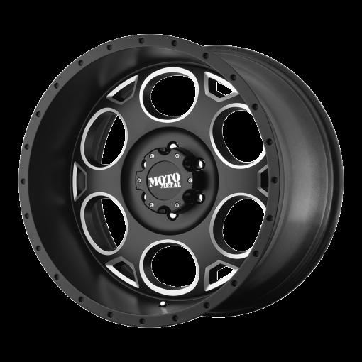Moto Metal Rims MO964 SATIN BLACK MILLED
