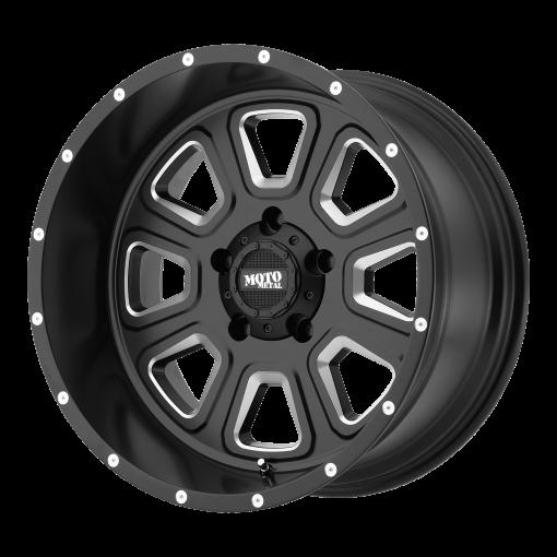 Moto Metal Rims MO972 SATIN BLACK MILLED