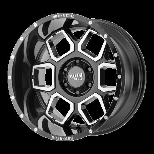 Moto Metal Rims MO981 SPADE GLOSS BLACK MACHINED
