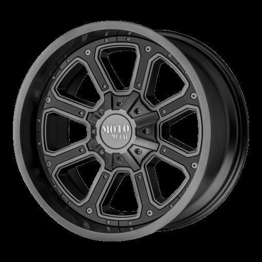 Moto Metal Rims MO984 SHIFT MATTE GRAY GLOSS BLACK INSERTS