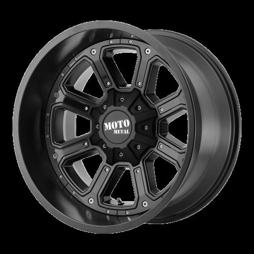 Moto Metal Rims MO984 SHIFT MATTE BLACK GLOSS BLACK INSERTS