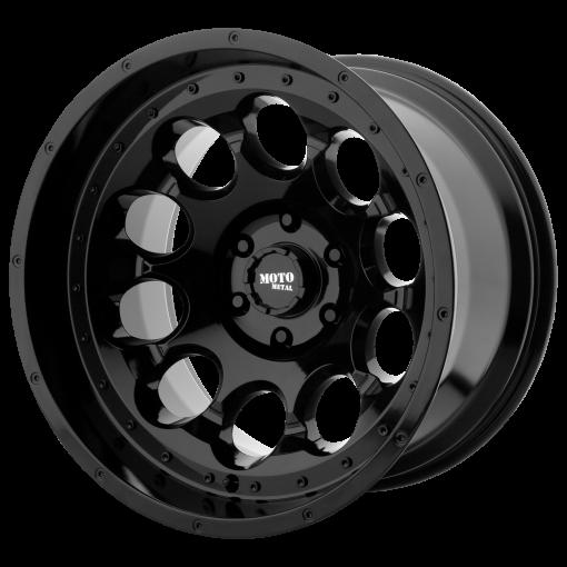 Moto Metal Rims MO990 ROTARY GLOSS BLACK