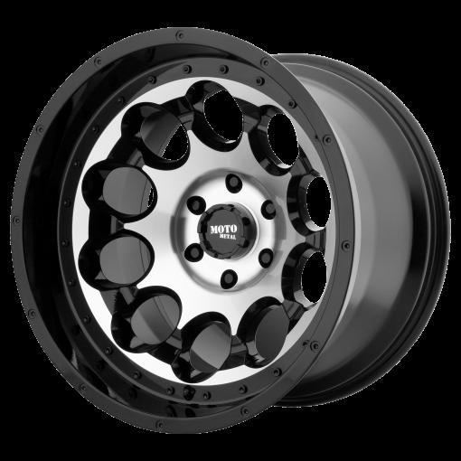 Moto Metal Rims MO990 ROTARY GLOSS BLACK MACHINED
