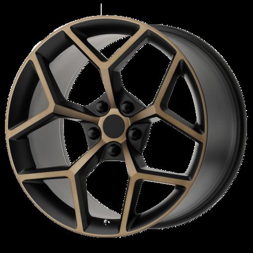OE Creations Rims PR126 BLACK BRONZE
