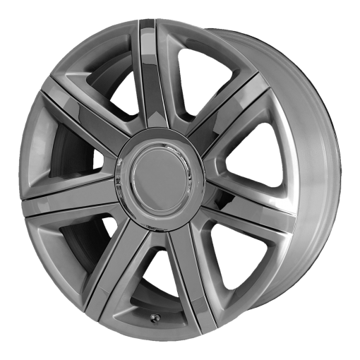 OE Creations Rims PR164 SILVER WITH CHROME ACCENTS