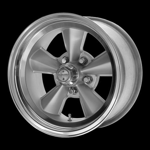 American Racing Rims VNT70R Gunmetal W/ Polished Lip
