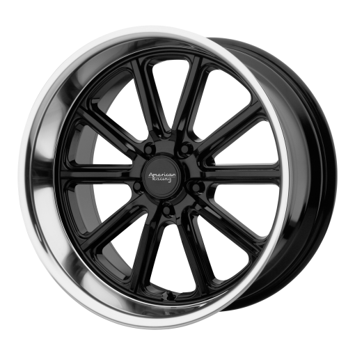 American Racing Rims VN507 RODDER GLOSS BLACK DIAMOND CUT LIP