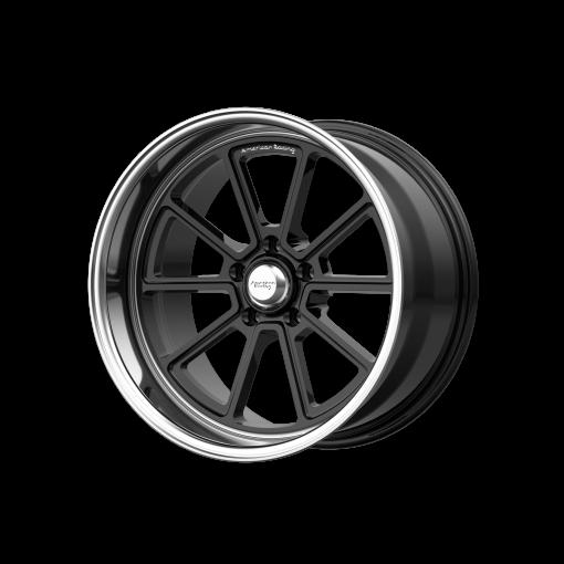 American Racing Rims VN510 DRAFT GLOSS BLACK DIAMOND CUT LIP