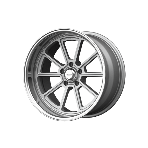 American Racing Rims VN510 DRAFT VINTAGE SILVER DIAMOND CUT LIP