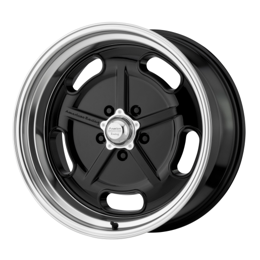 American Racing Rims VN511 SALT FLAT GLOSS BLACK DIAMOND CUT LIP