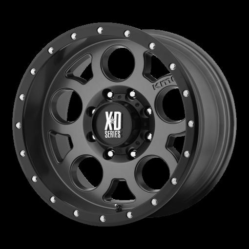 XD Series Rims XD126 ENDURO PRO MATTE GRAY W BLACK REINFORCING RING