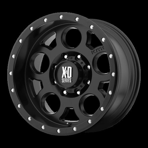 XD Series Rims XD126 ENDURO PRO SATIN BLACK WITH REINFORCING RING