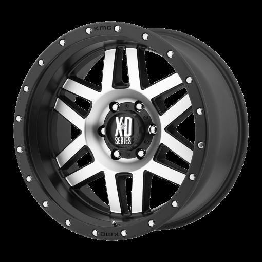 XD Series Rims XD128 MACHETE MACHINED FACE BLACK RING
