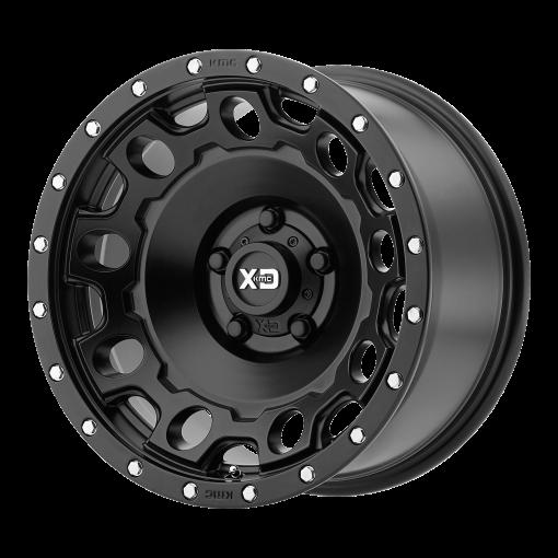 XD Series Rims XD129 HOLESHOT SATIN BLACK