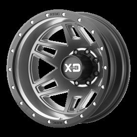 XD130 MACHETE DUALLY MATTE GRAY BLACK RING