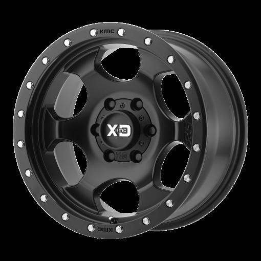 XD Series Rims XD131 RG1 SATIN BLACK WITH REINFORCING RING