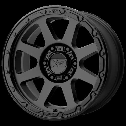 XD Series Rims XD134 ADDICT 2 MATTE BLACK