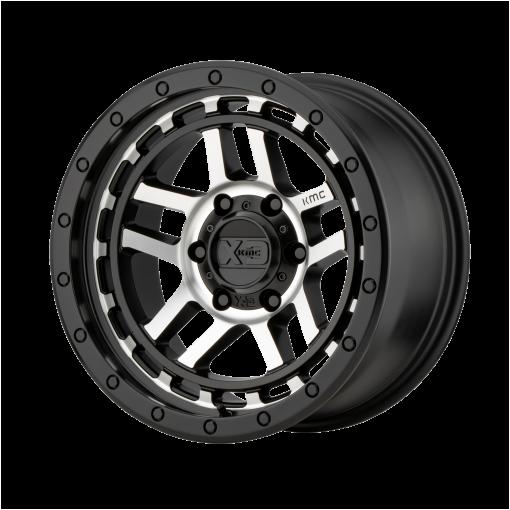 XD Series Rims XD140 RECON Satin Black Machined