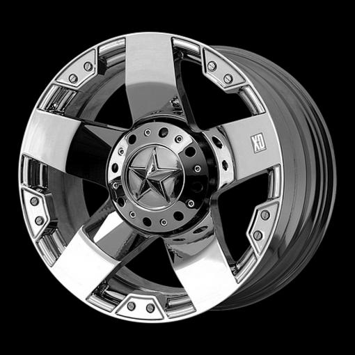 XD Series Rims XD775 ROCKSTAR CHROME