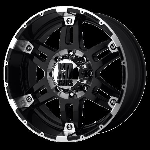 XD Series Rims XD797 SPY GLOSS BLACK MACHINED