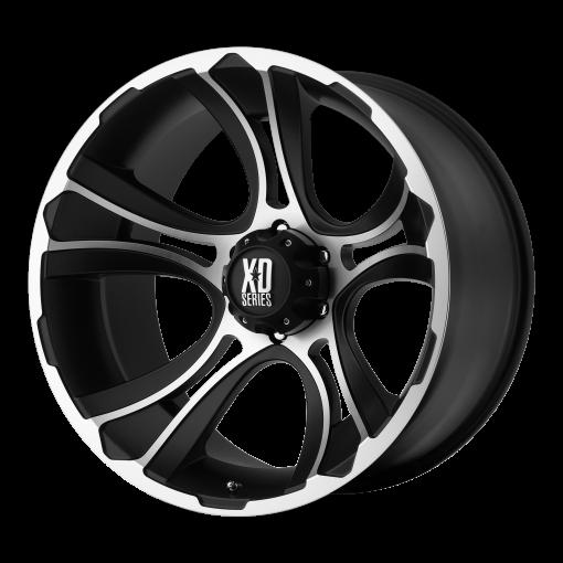 XD Series Rims XD801 CRANK MATTE BLACK MACHINED