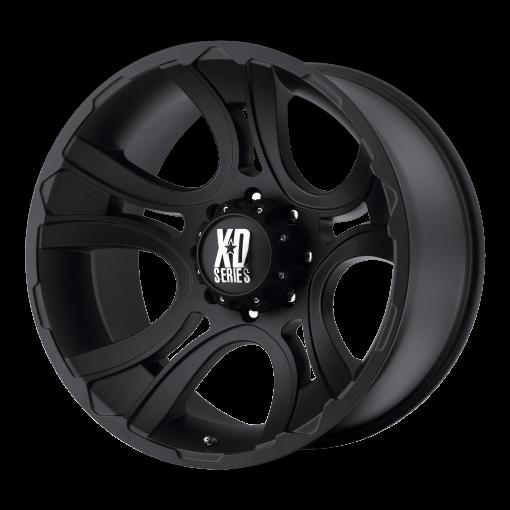 XD Series Rims XD801 CRANK MATTE BLACK