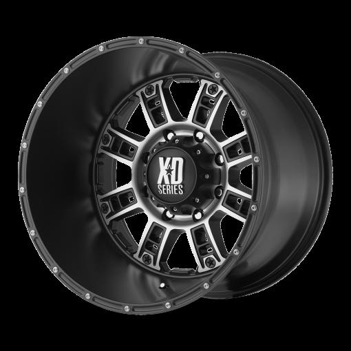 XD Series Rims XD809 RIOT MATTE BLACK MACHINED