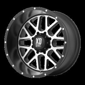 XD820 GRENADE SATIN BLACK MACHINED FACE
