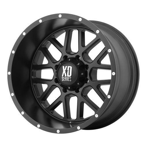 XD Series Rims XD820 GRENADE SATIN BLACK