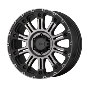 XD829 HOSS II SATIN BLACK MACHINED GRAY TINT