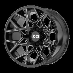 XD831 CHOPSTIX GLOSS BLACK MILLED