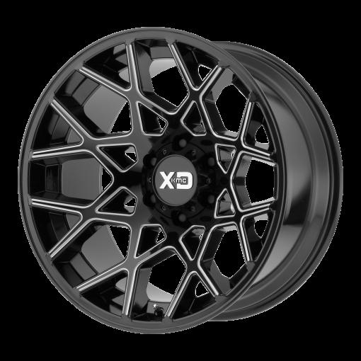 XD Series Rims XD831 CHOPSTIX GLOSS BLACK MILLED