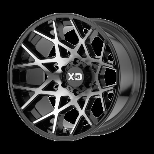 XD Series Rims XD831 CHOPSTIX GLOSS BLACK MACHINED