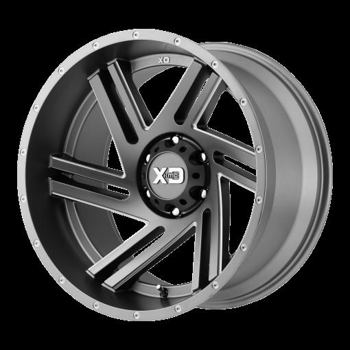XD Series Rims XD835 SWIPE SATIN GRAY MILLED