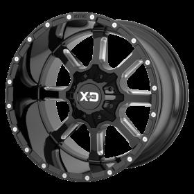 XD838 MAMMOTH GLOSS BLACK MILLED
