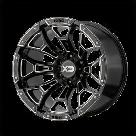 XD841 BONEYARD GLOSS BLACK MILLED