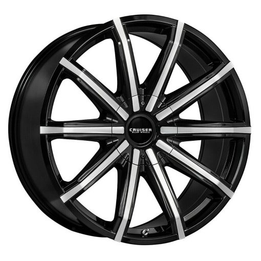 Cruiser Alloy Rims 927MB Spectrum GLOSS MACHINED BLACK