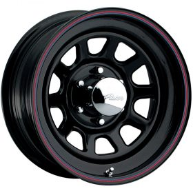 342B Black Daytona Black Red Blue