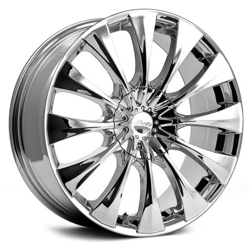 Pacer Rims 776C Silhouette CHROME